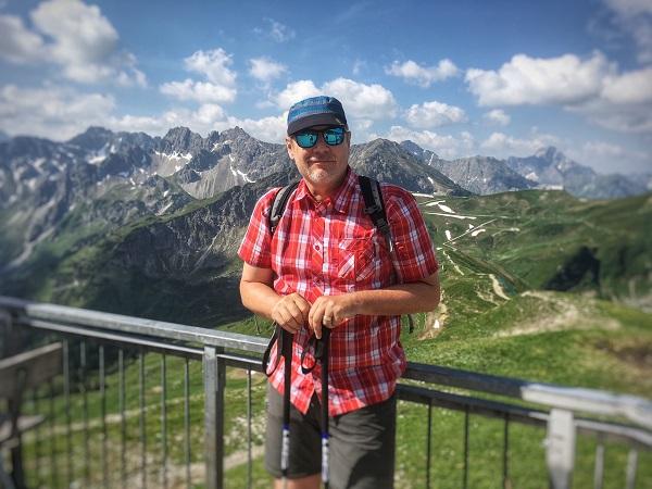 Wandern in den Alpen ist herrlich!